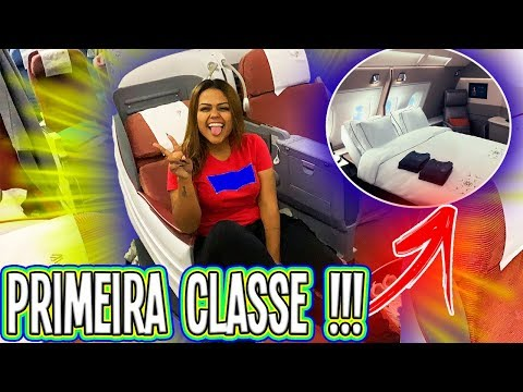 VIAJANDO DE 1ª CLASSE DO EUA PARA O BRASIL !!!