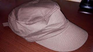 Недорогая военная или армейская кепка кофейного цвета из Китая (Aliexpress)