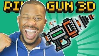 OMG! USING THE ORBITAL PISTOL! | Pixel Gun 3D