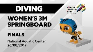 Download Video KL2017 29th SEA Games | Diving - Women's 3m Springboard FINALS | 26/08/2017 MP3 3GP MP4