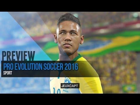 PES 2016 - Preview demo : Bayern Munich - Juventus