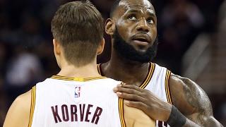 Cavs' Kyle Korver on helping LeBron James with free throws
