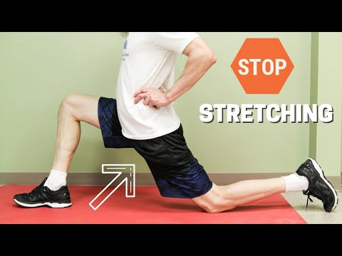 Stop Stretching Your Hip Flexors, Here is Why!