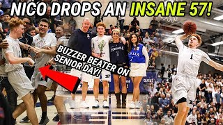 Nico Mannion Drops 57 & Hits INSANE BUZZER BEATER FTW! This Was The GAME OF THE YEAR No Cap 😱