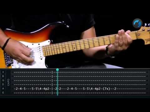 (I Can't Get No) Satisfaction - The Rolling Stones (aula de guitarra completa)