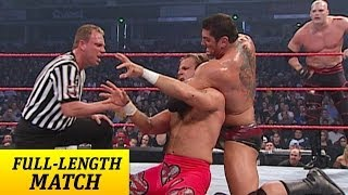 vuclip FULL-LENGTH MATCH - Raw - Goldberg, Shawn Michaels & RVD vs. Batista, Randy Orton & Kane