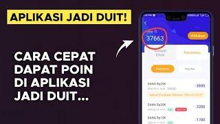 Mudah !! Cara Cepat Mendapatkan Poin di Aplikasi Jadi Duit - Penghasil Uang Tercepat screenshot 1