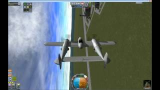 Kerbal Space Program P-38 Lightning