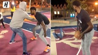 Paul George Pulled Up to the Park and Schooled His Fans in Hometown