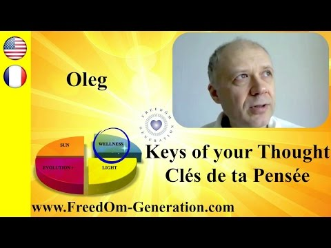 The Light-Keys of your Thought : Transform EVERYTHING, with Oleg Maslov (Breatharian)