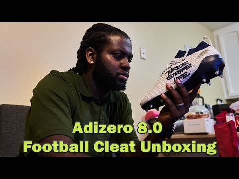 Adizero 8.0 Cleat | Football Cleat Unboxing
