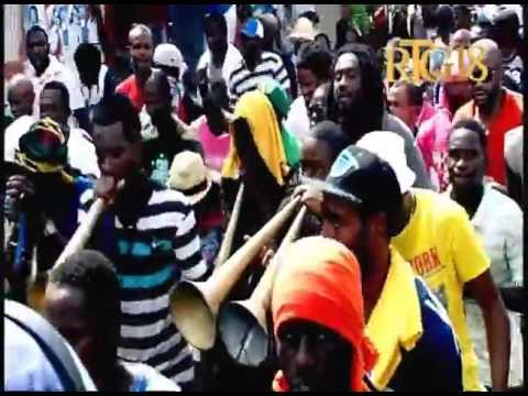 Les Partisants du PHTK ont manifesté dans les rues de Port au Prince