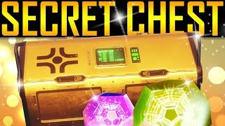 Destiny 2 - SECRET LIGHTHOUSE CHEST! New Exotics!