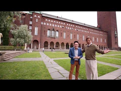 ลีลามี ตอน เที่ยว City Hall-พิพิธภัณฑ์เรือรบวาซ่า กรุงสตอกโฮล์ม, สวีเดน (12ก.พ.59)