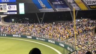 2015年 8月1日 埼玉西武ライオンズvs福岡ソフトバンクホークス イエロー...