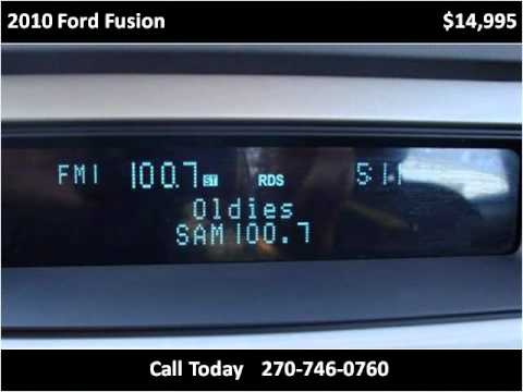 2010 Ford Fusion Used Cars Nashville TN