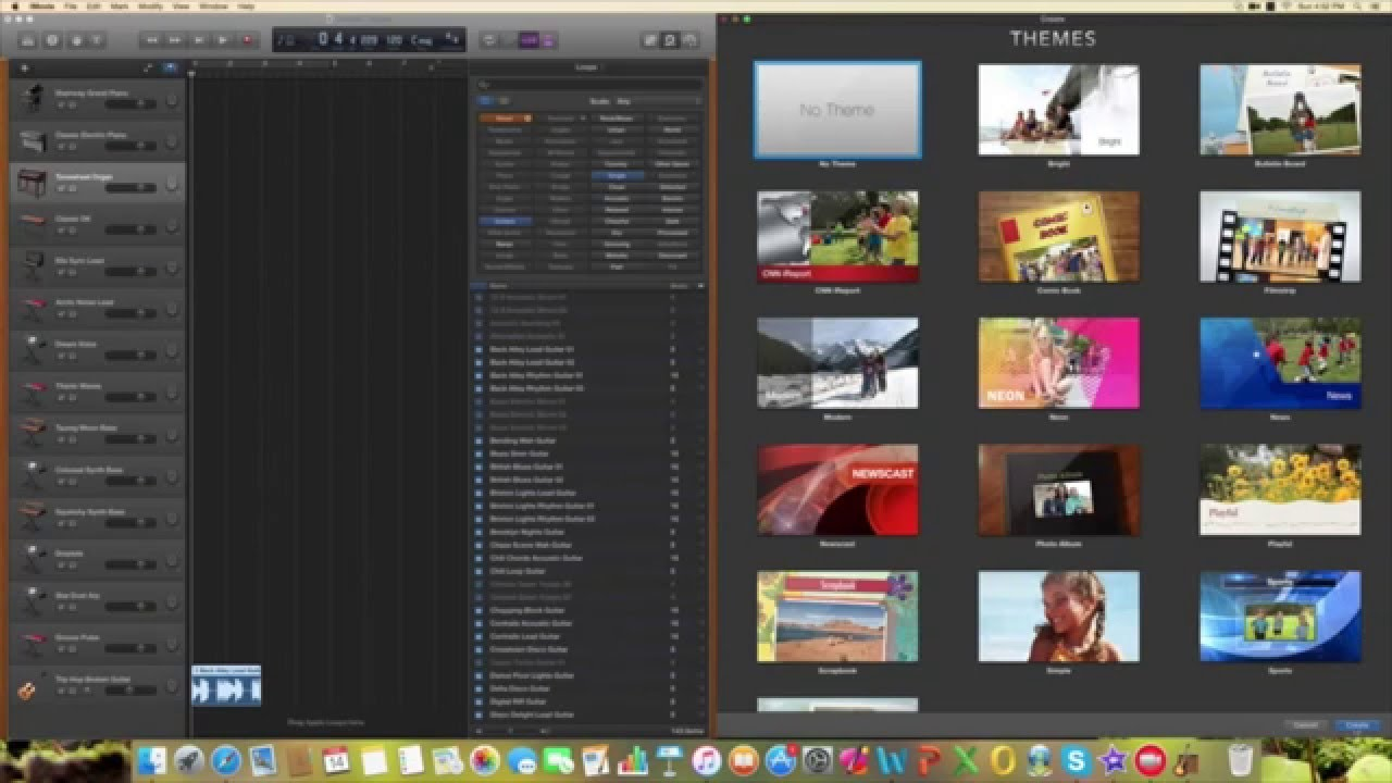 To how import photos imovie to
