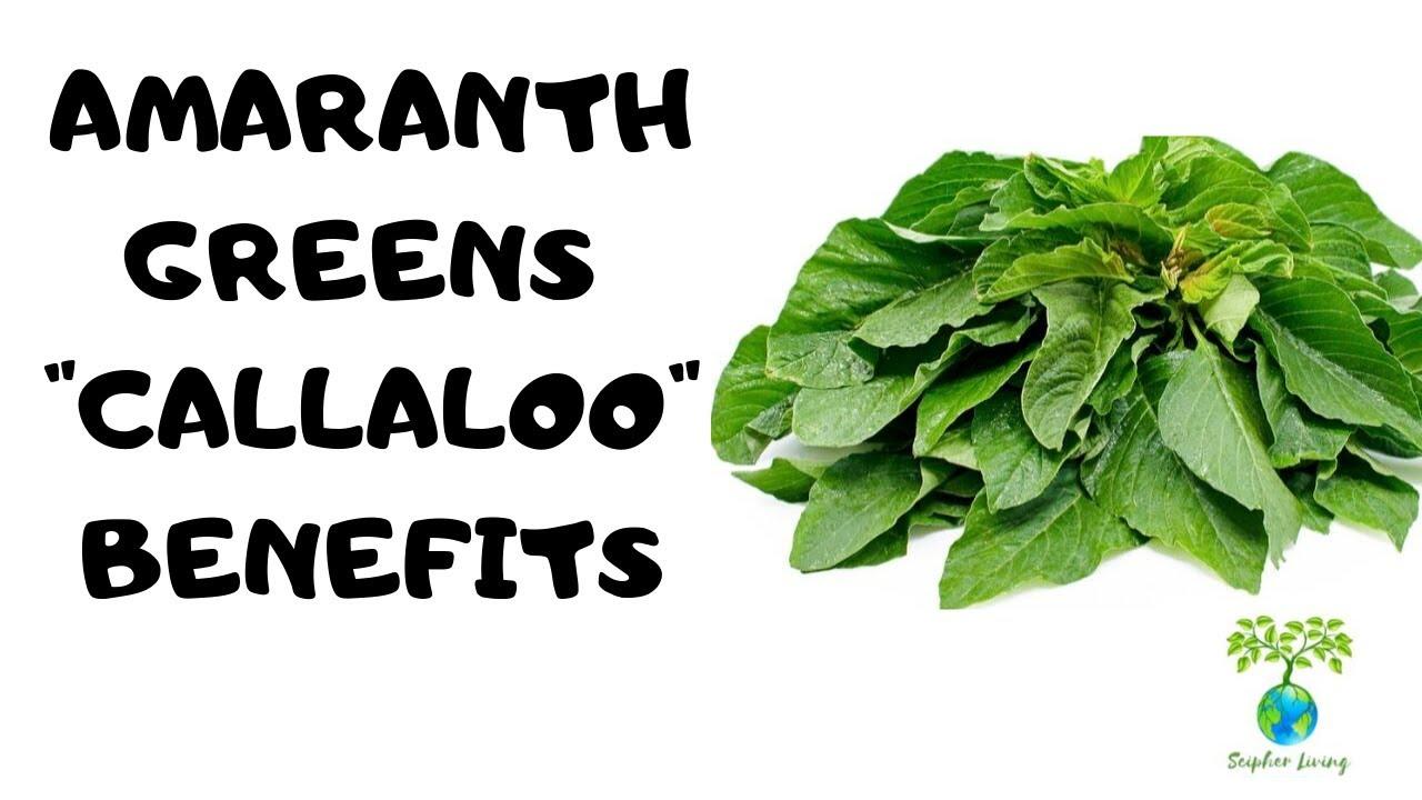 Amaranth Greens/Callaloo Benefits | DR. SEBI APPROVED | SCIPHER LIVING