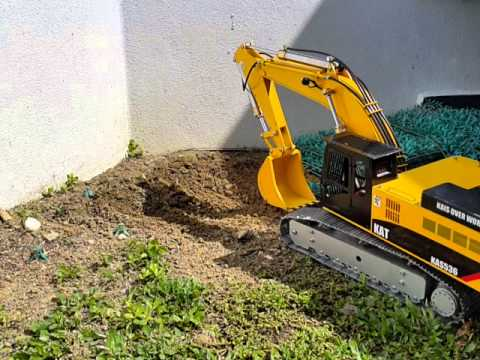 Rc excavator project