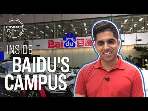 Inside Baidu's high tech headquarters in Beijing | CNBC Reports