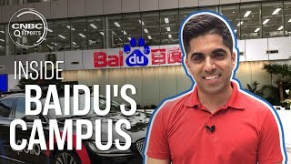 Inside Baidu's high tech headquarters in Beijing | CNBC Reports