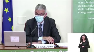 Coronavirus, Brusaferro (Iss):
