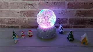 하트소녀 스노우볼 워터볼 크리스마스 오르골