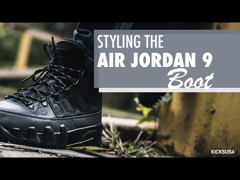 22b4f8861116c5 Styling the Air Jordan 9 Boot NRG