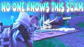 0.001% of SCAMMERS WILL USE THIS SCAM!!🤐 In Fortnite Save The World