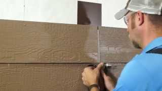 LP SmartSide Lap Siding Installation using H-Molding | Wausau Siding Systems