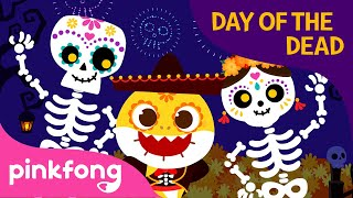 Day Of The Dead With Baby Shark | Halloween Songs | Pinkfong Songs For Children