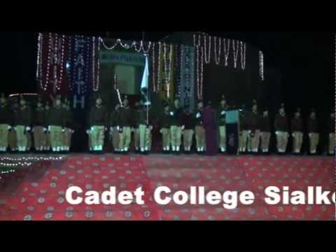 Cadet College Sialkot Drill Display, 2012