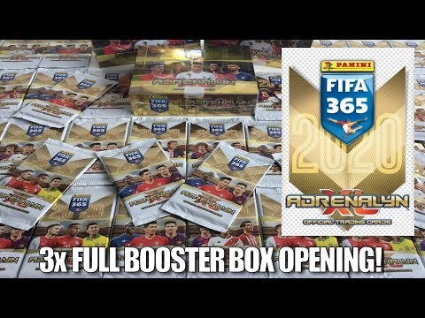 FIRST UK LOOK! ⚽ Panini ADRENALYN XL FIFA 365 (2020) Cards! | 3x FULL BOOSTER BOXES OPENING! ⚽