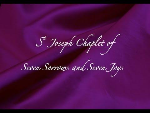 St. Joseph Chaplet of Seven Sorrows & Seven Joys
