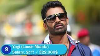 Top 10 Kannada Actors/Heroes Salary 2015