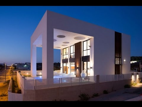 Minimalist Modern House Design With Unique Structure Of