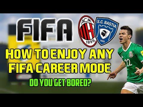 HOW TO ENJOY ANY FIFA CAREER MODE ! (Play It Longer)