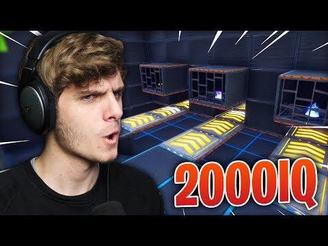 2000IQ ESCAPE ROOM VAN EEN KIJKER | Fortnite Creative