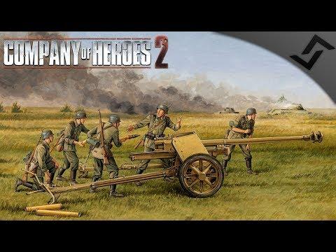 PaK 40 Blitz! - Company of Heroes 2 - Theatre of War: Barbarossa COOP 6