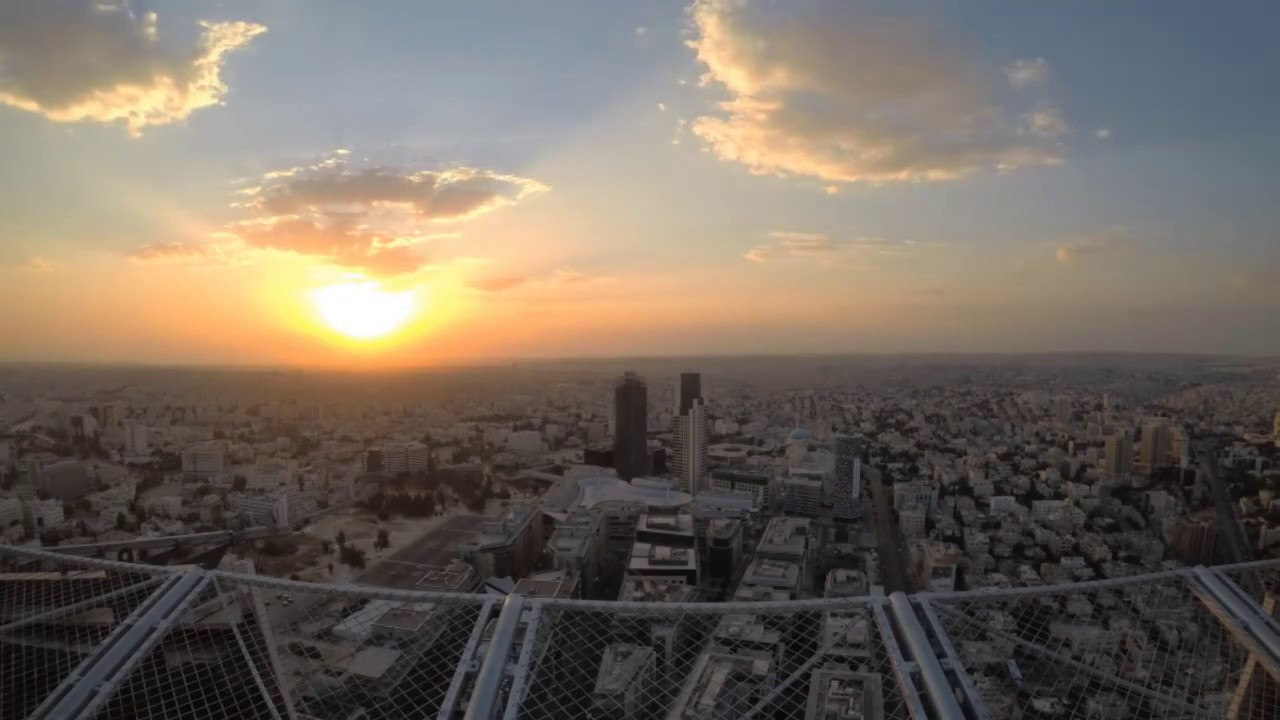 The First Rays Of Sunrise From W Hotel At New Abdali