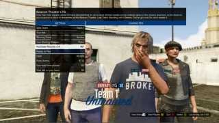 Grand Theft Auto V - Online - Winning a Random Last Team Standing Game