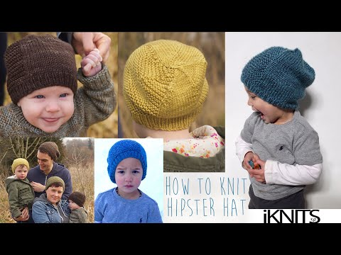 HOW TO KNIT HIPSTER HAT