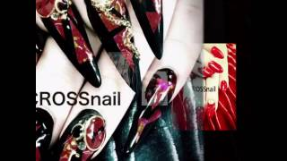 http://www.cross-nail.com nagoya-city,Aichi Japan #longacrylicnails...