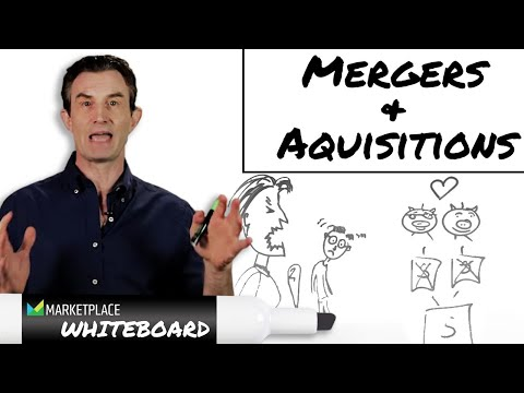 The difference between a merger and an acquisition