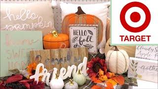NEW TARGET FALL & Halloween Decor 2018!