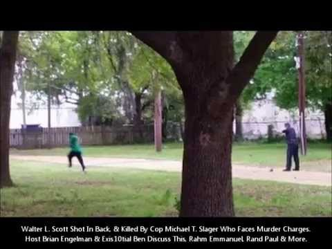 Walter Scott Shot In Back & Killed. Cop Michael T. Slager Fa
