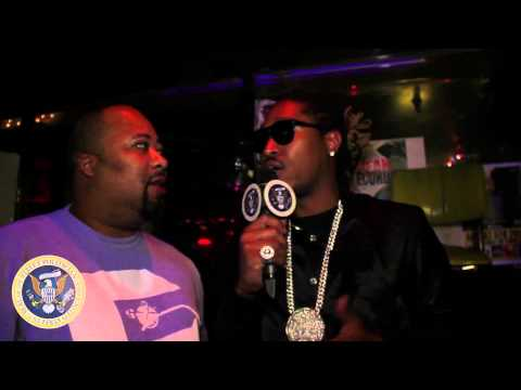 [SNIPPET] Future talks to Dj Funky about growing up with Miss Atown & Their Work Ethics!