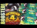 ★BOOST UPGRADE! WONDER 4 BOOST★ 🐳 WHALES OF CASH Slot Machine Bonus Win (Aristocrat)