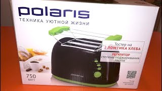 Тостер Polaris PET 0702LB - обзор