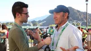 BNP Paribas Open: Kevin Spacey on Tennis, Roger Federer, Frank Underwood and More